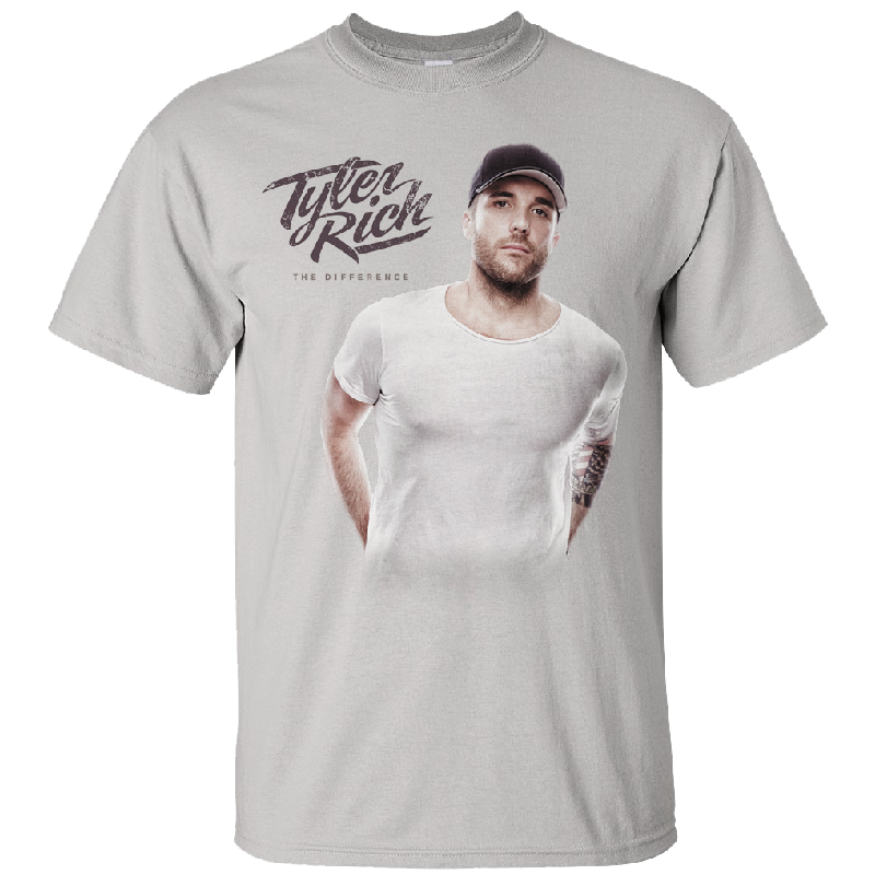Tyler Rich Silver Photo tee